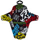 Reverse Nico Vink-Stickerbomb Mudguard colourful